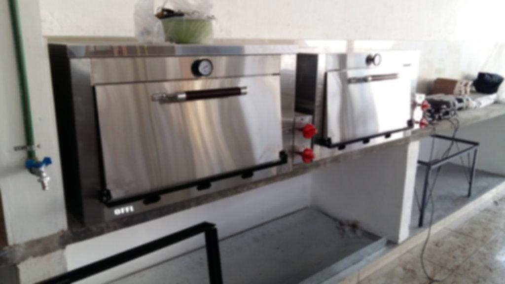 Horno 12 moldes acero inoxidable fábrica pesados pastelero panadero