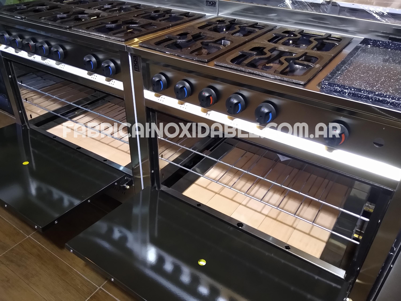 Hornallas cocina industrial ituzaingo fabrica inoxidable