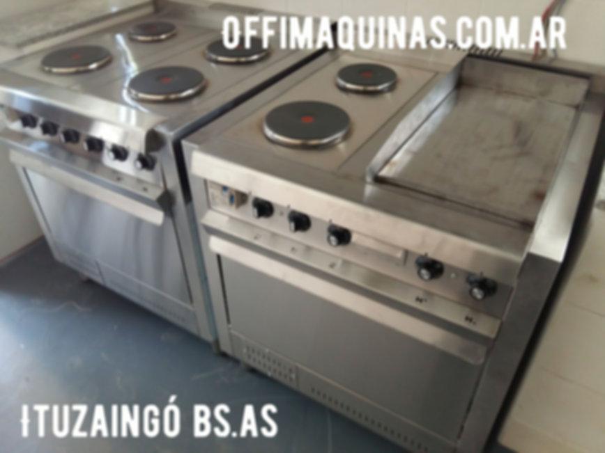 cocinas electricas gastronomicas industriales con plancha bifera acero inoxidable resistencias. Fábrica de equipamiento gastronómico