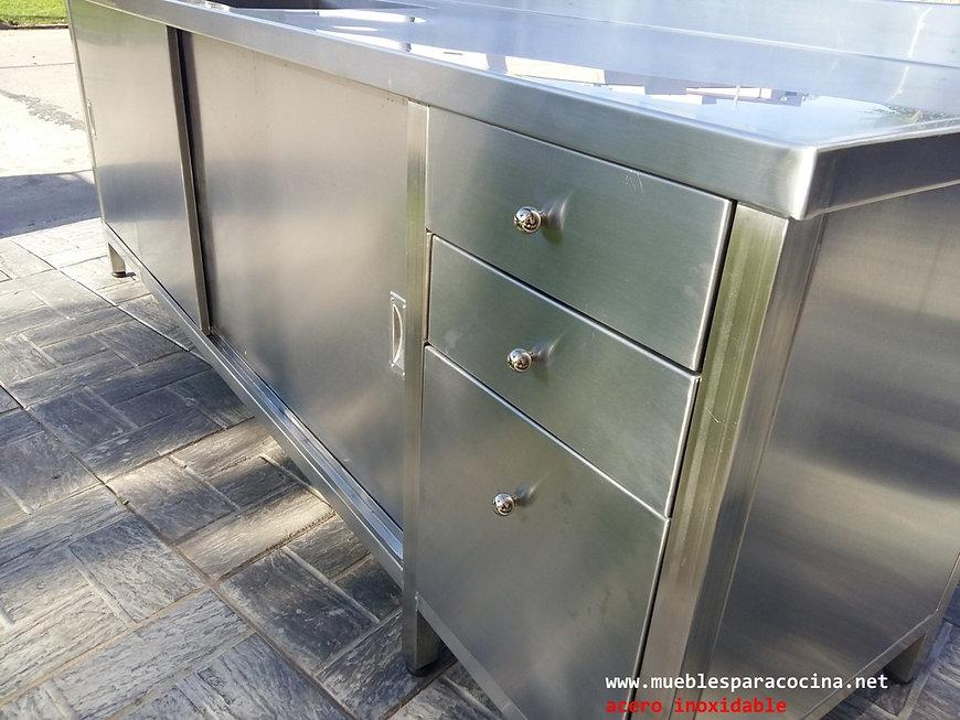 Somos fabricantes de muebles acero inoxidable para gastronomía laboratorios y empresas a medida y etándar