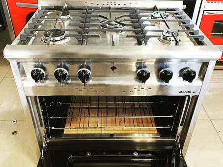 Cocina industrial morelli Forza 900 puerta visor