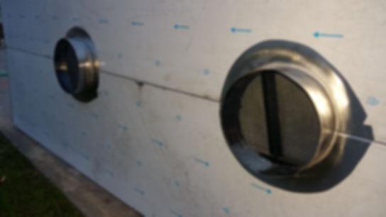 Campanas industriales fabrica inoxidable salida exterior motor pulgadas centrifugo