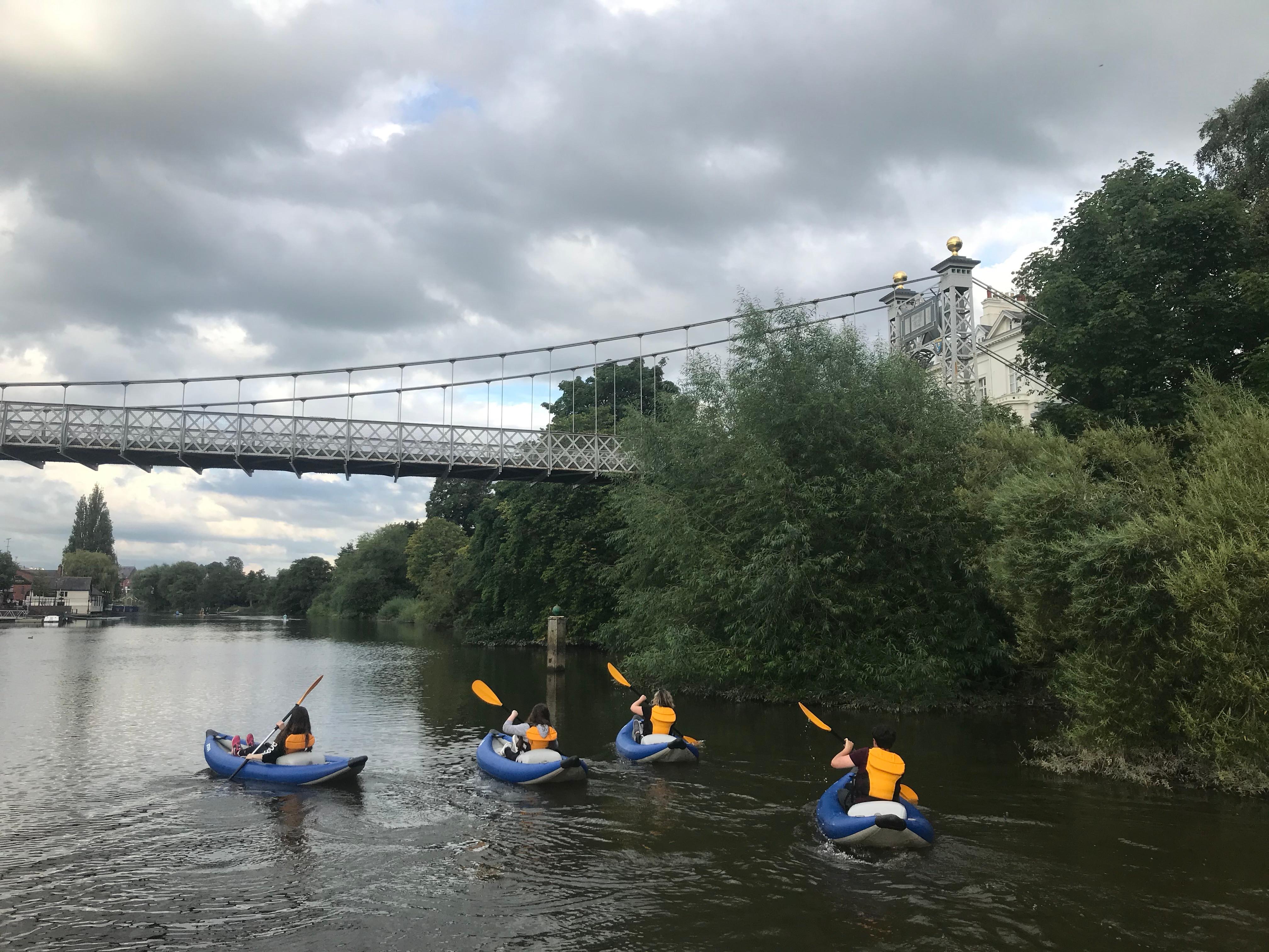 Social Paddle: Chester Town Kayaking