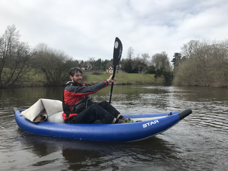 How to litter pick your local river.