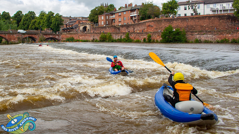 Chester Whitewater Session for 2 Gift Voucher