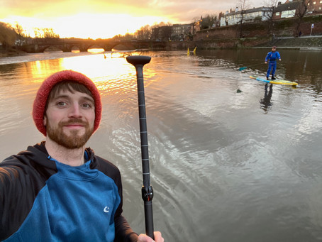 Paddle Into 2021 Challenge-Creating an outdoor exercise habit and raising ££ for Alzheimers Research