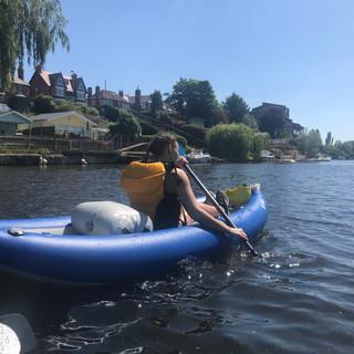 kayaking in chester