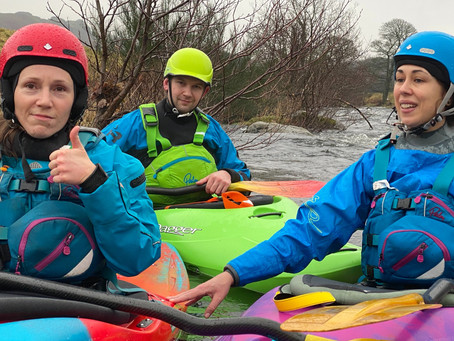 How to get into Whitewater Kayaking - Part 1 - Finding friends and mentors