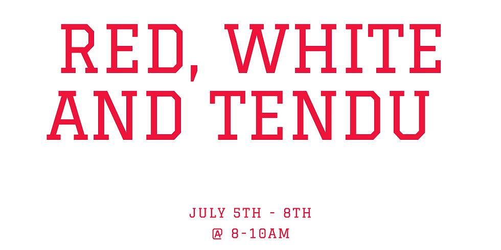 Red, White and Tendu dance camp