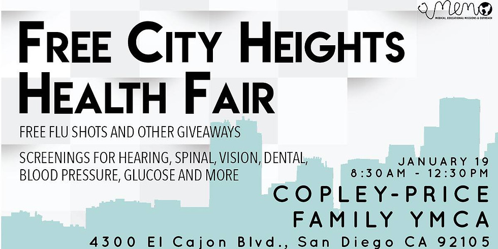 U.C.S.D. Free City Heights Health Fair