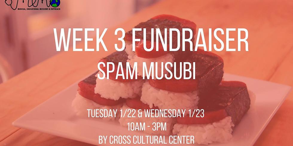 U.C.I. Week 3 Fundraiser