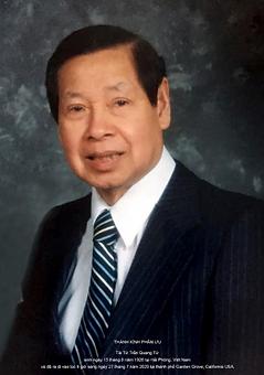 In Memory of Phillip Quang Tu Tran