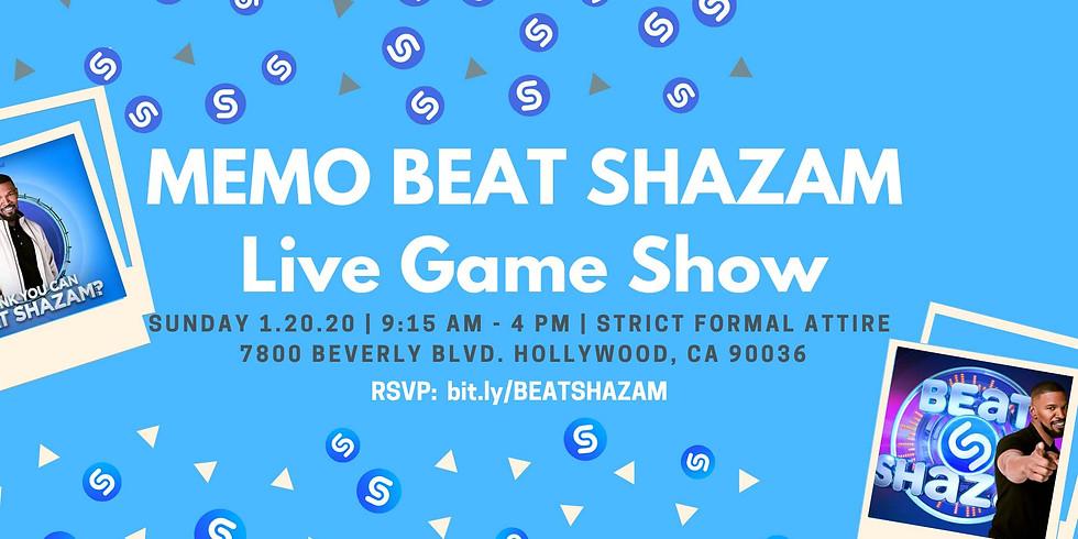 U.C.I. T.V. Taping Fundraiser Beat Shazam Live Game Show