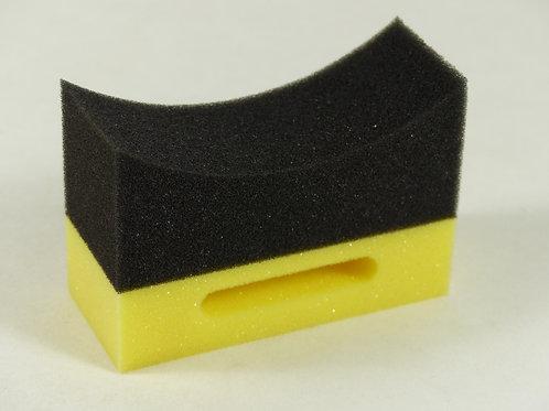 Tyre dressing sponge