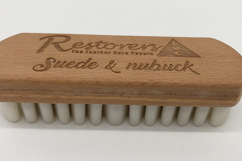 Suede and Nubuck Brush Rubber Base