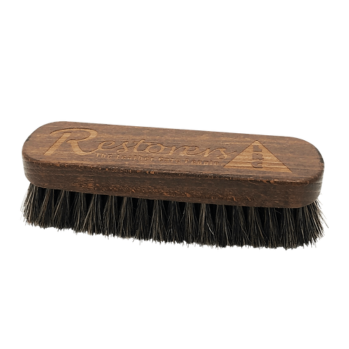 Luxury Leather Cleaning Brush Horse Hair