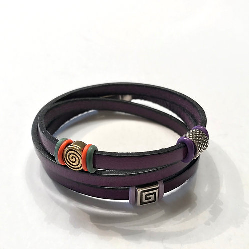 Purple Triple Tier with Multi Spacers