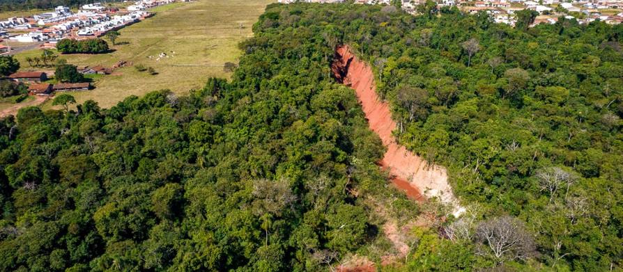 E agora, depois das fortes chuvas, como estará essa Erosão no Parque das Nações?