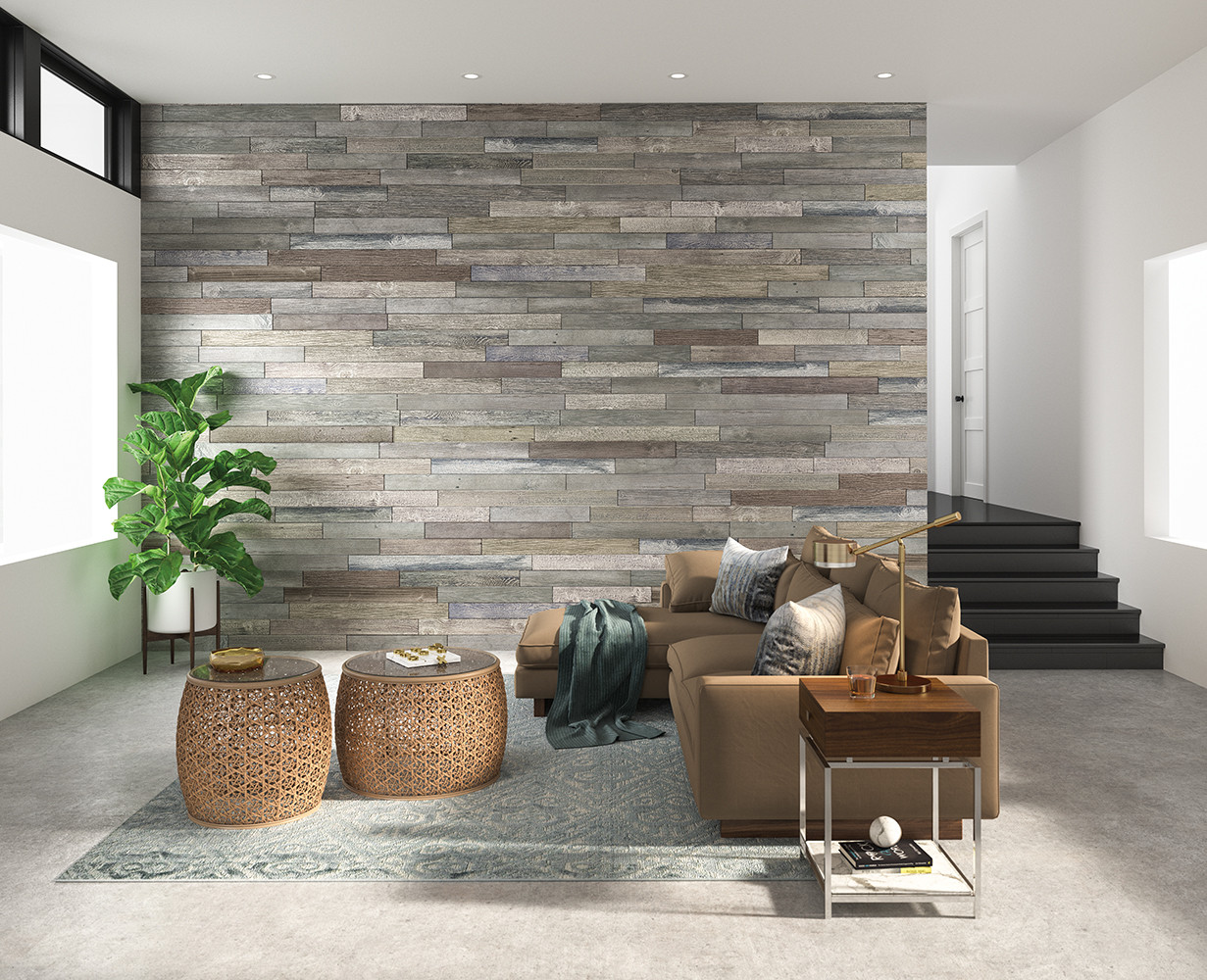 Create that new look by adding an accent wall to any room.
