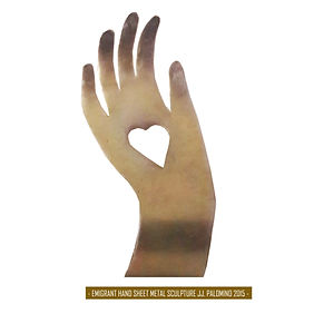 EMIGRANT HAND -Sheet Metal Sculpture.jpg