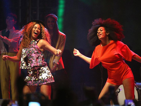 BEYONCE AND SOLANGE: SISTERS SPEAK, SISTERS ACT