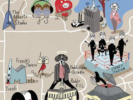 BERNARD ZUEL'S ROCK TRAIL OF SYDNEY