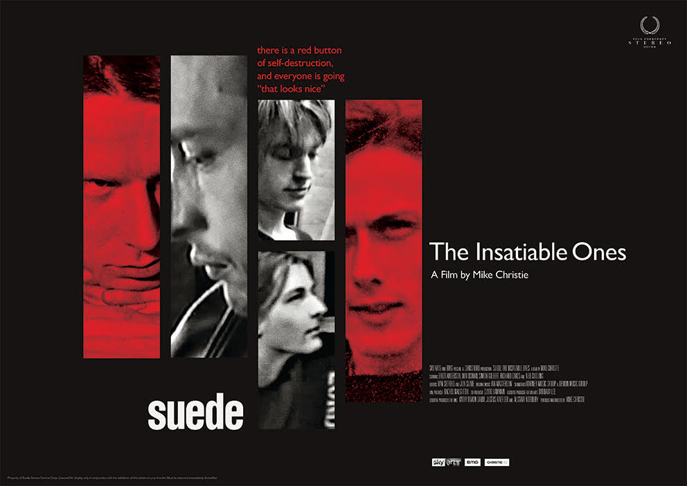 Suede film poster