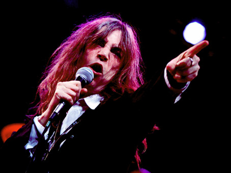 SPIT, FIRE AND TUMULT: PATTI SMITH IN THE HOUSE ON A WIND BACK WEDNESDAY