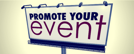 promote your conference & exhibition events