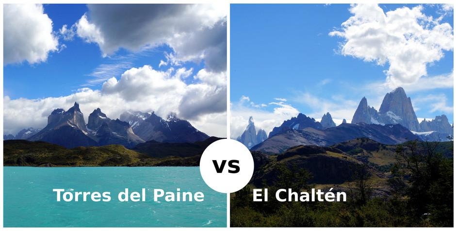Torres del Paine vs El Chaltén   (Chile/Argentina)