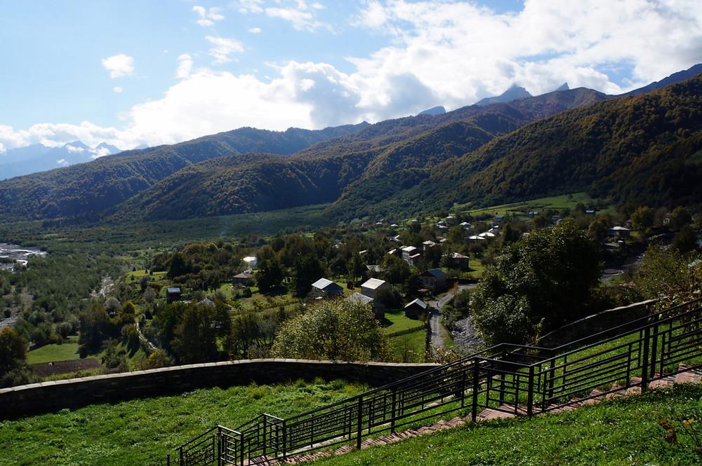 Ghebi; Transcaucasian Trail; Racha;
