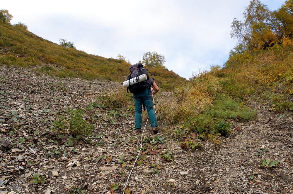 Svaneti to Racha; Zeshko; Caucasus; Gerogia; trekking with a tent