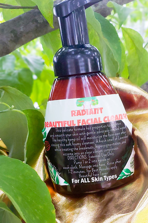 Radiant Beautiful Facial Cleanser 8oz