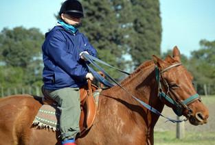 Lihue Quimlu y el encanto del polo adaptado