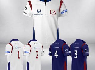Presentación de la camiseta de La Ensenada La Aguada para la Triple Corona