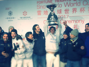 Argentina campeón del Snow PoloWorld Cup China 2017