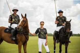 """Rebekah Greenhill, en Palm Beach: """"Mi sueño es hacer caballos de alto hándicap"""""""