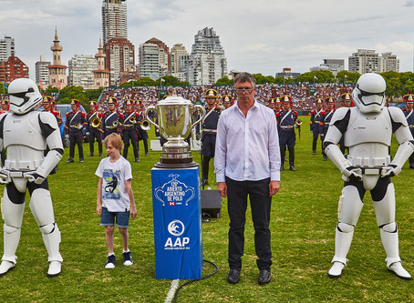 Los Stormtroopers custodiaron la copa en Palermo