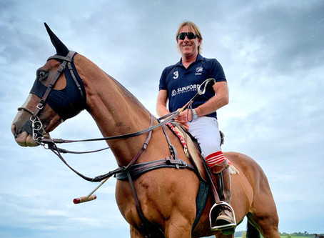 Behind the scenes of Polo Park Zürich: polo teacher Steve Thompson