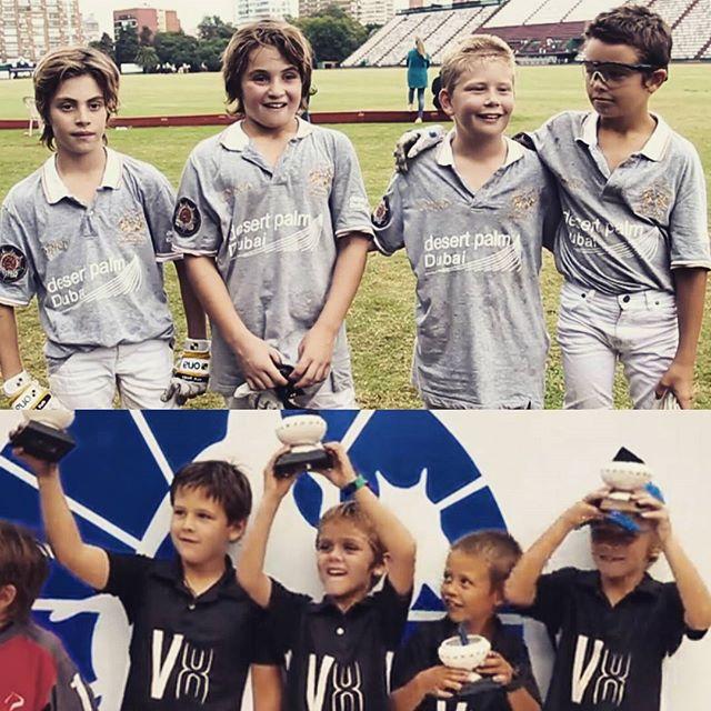 Torneo de Menores de _asocdepolo y _thaipoloclub en Palermo! Campeones Mini y Mini-mini