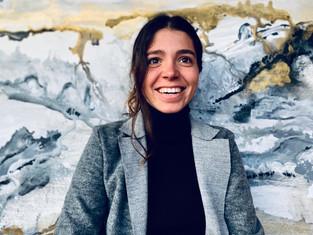Inés Vilas le pone arte a los cascos de polo