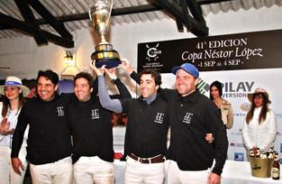 El Carmen - Pilar ganó la 41° versión del torneo en el Club Hípico Gral. Belgrano