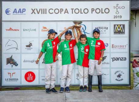 Todos los podios de la Tolo Polo y la Copa Los Potrillos 2019