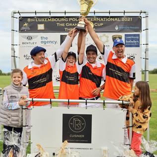 Gran 8° Luxemburgo Polo International, con Renaud Belouis como campeón!