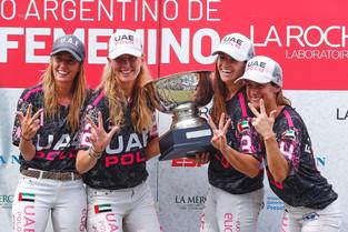 III Abierto Femenino: finalmente se le dio a El Overo Z7 UAE