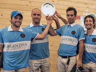 Argentina venció a Francia en Chantilly
