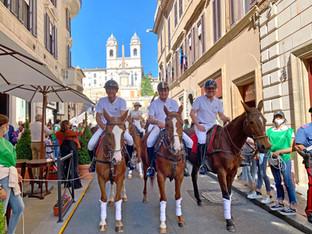 Todo listo para el Italia Polo Challenge Roma