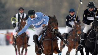 Argentina en el Torneo Internacional de Snow Polo China 2017
