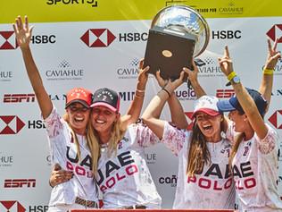 El Overo Z7 UAE bicampeón del Abierto Femenino