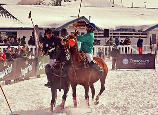 Polo en la nieve: Origenes gana en Cerro Bayo